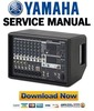 Thumbnail Yamaha EMX512SC + EMX312SC Mixer Service Manual & Repair Guide