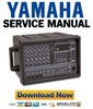 Thumbnail Yamaha EMX62M Mixer Service Manual & Repair Guide