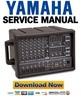 Thumbnail Yamaha EMX68S + EMX88S Mixer Service Manual & Repair Guide
