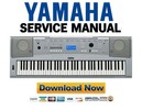 Thumbnail Yamaha DGX 220 + YPG 225 Keyboard Service Manual & Repair Guide