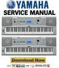 Thumbnail Yamaha DGX 230 + YPG 235 Keyboard Service Manual & Repair Guide