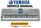 Thumbnail Yamaha DGX-305 + 505 Service Manual & Repair Guide Download