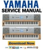 Thumbnail Yamaha DGX-620 YPG-625 Keyboard Service Manual & Repair Guide