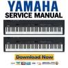 Thumbnail Yamaha CP33 manual de servicio y Manual de taller