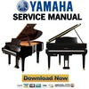 Thumbnail Yamaha Disklavier E3 Series Piano Service Manual & Repair Guide