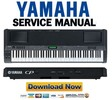 Thumbnail Yamaha CP300 Stage Piano Service Manual & Repair Guide