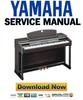 Thumbnail Yamaha Clavinova CLP-150 150M 150C Piano Service Manual & Repair Guide