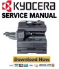 Thumbnail Kyocera TASKalfa 180 + 220 Service Manual & Repair Guide + Parts Catalog