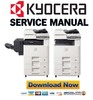 Thumbnail Kyocera TASKalfa 205c + 255c Service Manual & Repair Guide