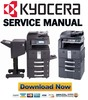 Thumbnail Kyocera TASKalfa FULL 250ci 300ci 400ci 500ci Service Manual & Repair Guide