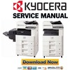 Thumbnail Kyocera Mita TASKalfa 255 255b 305 Service Manual & Repair Guide + Parts Catalog