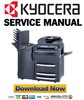Thumbnail Kyocera Mita Taskalfa 620 + 820 Service Manual & Repair Guide + Parts Catalog