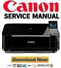 Thumbnail Canon Pixma MG5220 Service Manual & Repair Guide + Parts List Catalog