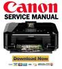 Thumbnail Canon Pixma MG6120 Service Manual and Repair Guide