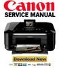Thumbnail Canon Pixma MG8120 Service Manual & Repair Guide + Parts List Catalog