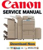 Thumbnail Canon imageRUNNER ADVANCE iR 6075 6065 6055 Service Manual & Repair Guide + Parts List Catalog