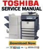 Thumbnail Toshiba e-Studio 2500c 3500c 3510c Service Manual + Service Handbook + Parts List Catalog