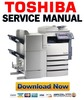 Thumbnail Toshiba e Studio 281c 351c 451c Service Manual + Service Handbook + Parts List Catalog