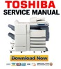 Thumbnail Toshiba e-Studio 350 352 450 452 Service Manual + Service Handbook + Parts List Catalog