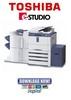 Thumbnail Toshiba e-Studio 523 + 623 + 723 + 853 Service Manual & Repair Guide + Service Handbook