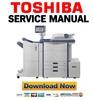 Thumbnail Toshiba e-Studio 5520C 6520C 6530C Service Manual & Repair Guide + Service Handbook