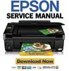 Thumbnail Epson Stylus NX420 TX420W SX420W SX425W Service Manual & Repair Guide