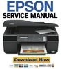 Thumbnail Epson Stylus OFFICE TX300F BX300F ME OFFICE 600F Service Manual & Repair Guide