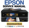 Thumbnail Epson Stylus Photo PX810FW + TX810FW Service Manual and Repair Guide