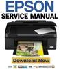 Thumbnail Epson Stylus SX100 SX105 SX110 SX115 Service Manual & Repair Guide