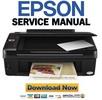 Thumbnail Epson Stylus TX220 NX220 SX218 TX228 Service Manual & Repair Guide
