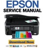 Thumbnail Epson WorkForce 600 manual de servicio y Manual de taller