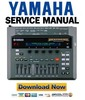 Thumbnail Yamaha DTXTREME Drum Trigger Module Service Manual & Repair Guide