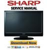 Thumbnail Sharp LC-32D44E Service Manual & Repair Guide
