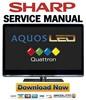 Thumbnail Sharp LC-40LE820UN 46LE820UN 52LE820UN 60LE820UN Service Manual & Repair Guide