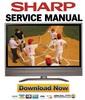 Thumbnail Sharp LC-45GX6U TU-GD10U  45GAD Service Manual & Repair Guide
