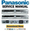 Thumbnail Panasonic DMR-EH60 Series Service Manual & Repair Guide