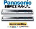 Thumbnail Panasonic DMR-EX75 + EX85 Service Manual & Repair Guide