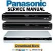 Thumbnail Panasonic DMR-EX78 + EX88 Reparaturanleitung