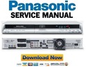 Thumbnail Panasonic DMR-EX80 EX80S EX80SEG Service Manual Repair Guide