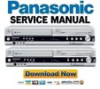 Thumbnail Panasonic DMR-EZ45 EZ45VEB Service Manual & Repair Guide