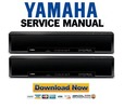 Thumbnail Yamaha YSP-600 + HTY-760 Service Manual & Repair Guide