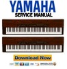 Thumbnail Yamaha P-120 + P-120S Electronic Piano Service Manual & Repair Guide