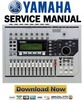 Thumbnail Yamaha AW1600 Digital Audio Workstation Service Manual & Repair Guide