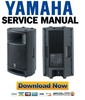 Thumbnail Yamaha MSR400 Speaker Service Manual & Repair Guide
