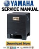 Thumbnail Yamaha YST-SW800 Subwoofer Service Manual & Repair Guide