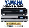 Thumbnail Yamaha MCX-2000 MusicCast Service Manual & Repair Guide
