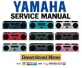 Thumbnail Yamaha MCR-040 + MCR-140 Service Manual & Repair Guide
