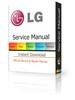 Thumbnail LG 42LE5510 + 42LE5810 LED LCD Service Manual & Repair Guide