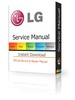 Thumbnail LG 42LE5800 + 42LE5900 LED LCD Service Manual & Repair Guide