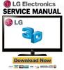 Thumbnail LG 55LX6500 + 55LX6500-SD LED LCD TV Service Manual & Repair Guide